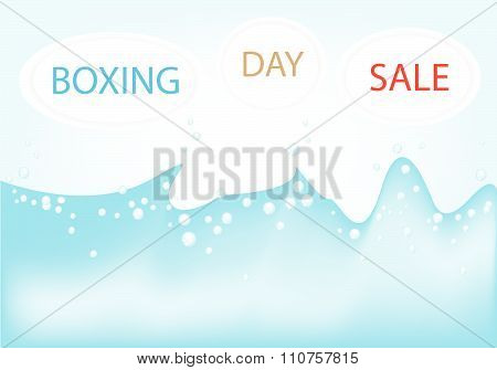 Boxing Day Background For Special Price Products