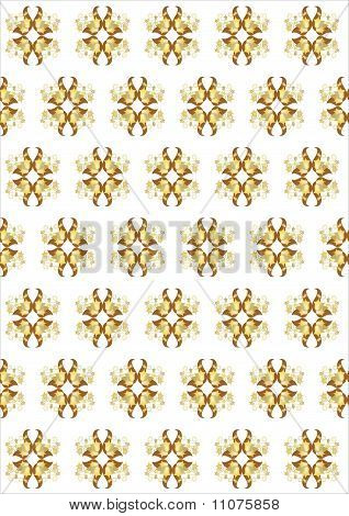 background repeating pattern and wellpaper in yellow color