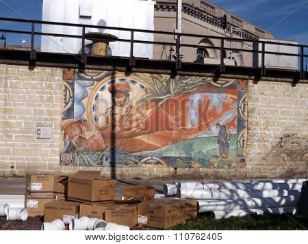 Mural: The Sauk Trail