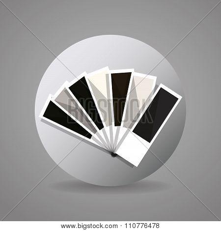 black and gray pantone