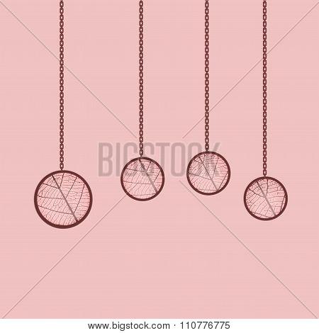 Handmade Jewelry Epoxy Resin And Leaf Sceleton