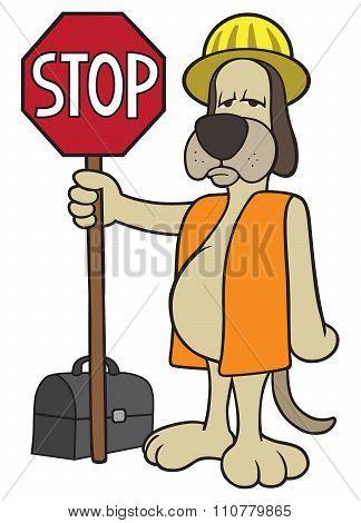 Dog Flagger