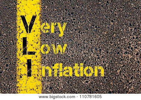 Accounting Business Acronym Vli Very Low Inflation
