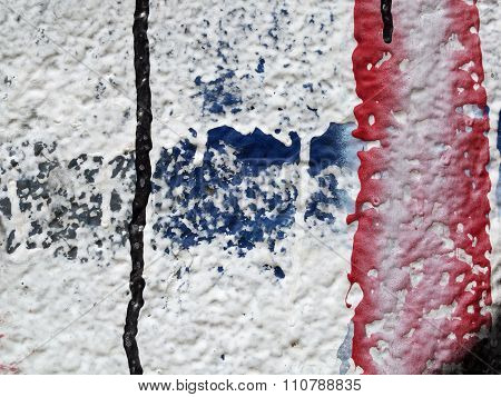 Close Up Of Plastered Painted Old Wall 7