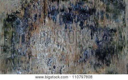 Wood Board Abstract And Grunge Vintage Background.