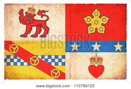 Grunge Flag Of Angus (scotland)