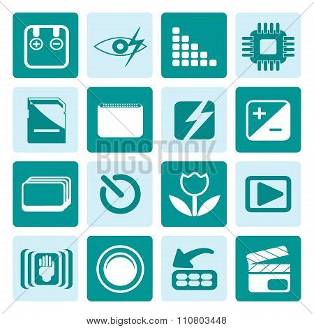 One tone Digital Camera  Performance icons