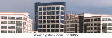 Slice Of City Buildings