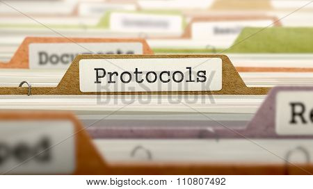 Protocols Concept on Folder Register.