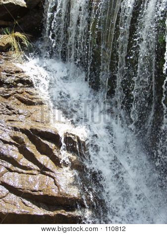 Water Fall Splashes