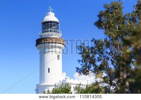 Lighthouse At Byron Bay , Nsw, Australia