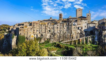 most beautiful medieval villages of Italy -Vitochiano (Viterbo pr