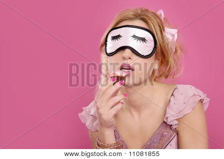 Sleep Mask Blind Blonde