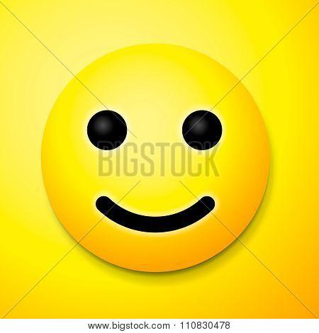 Emoji smile symbol