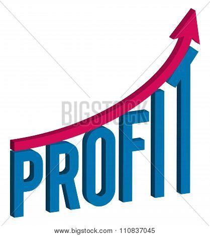 increase profit business concept