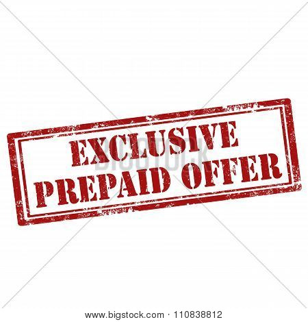 Exclusive Prepaid Offer
