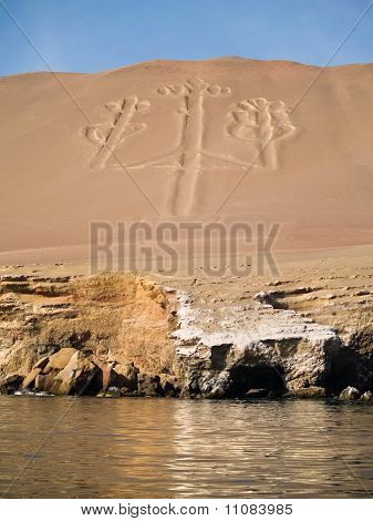 Candelabrum In Paracas National Park