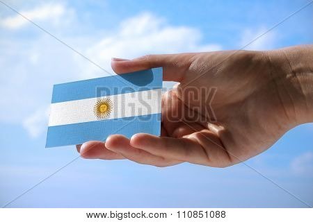 Small Flag Of Argentina