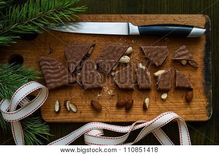 Traditional spanish sweet - turron