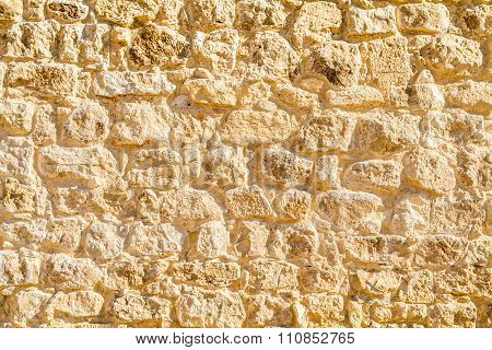 Ancient Stonework, Fragment Of A Wall