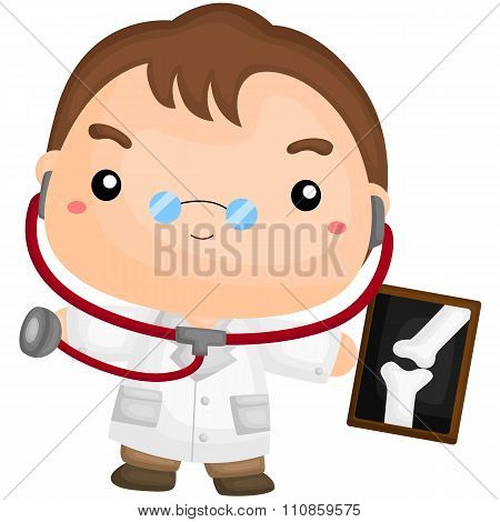 Cute Little Doctor