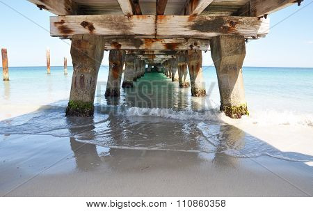 Ocean View: Under the Jetty