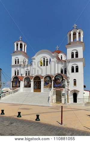 Orthodox Church In Paralia Katerini Greece