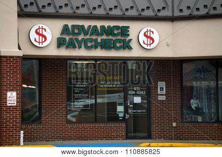 Advance Paycheck