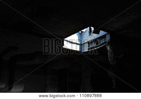 Skylight Abandoned Factory