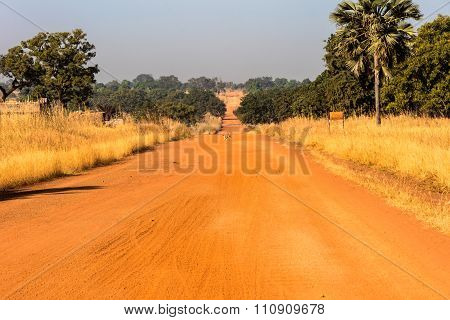Crossing  the Outback