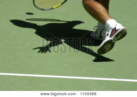 Tennis Shadows