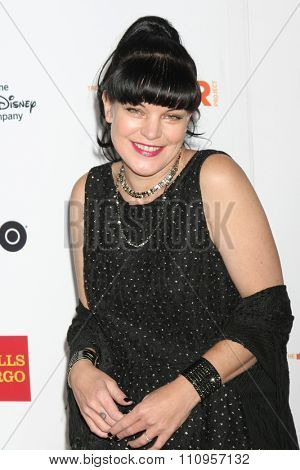 LOS ANGELES - DEC 6:  Pauley Perrette at the TrevorLIVE Gala at the Hollywood Palladium on December 6, 2015 in Los Angeles, CA