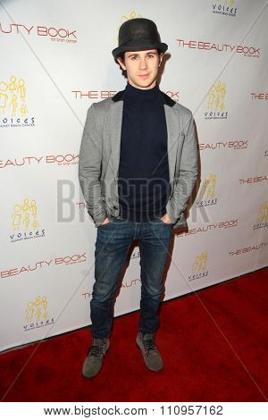 LOS ANGELES - DEC 3:  Connor Paolo at the The Beauty Book For Brain Cancer Edition Two Launch Party at the Le Jardin on December 3, 2015 in Los Angeles, CA