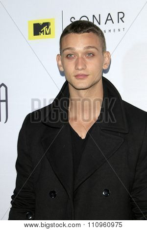 LOS ANGELES - DEC 4:  Cody Saintgnue at the he Shannara Chronicles at the iPic Theaters on December 4, 2015 in Los Angeles, CA