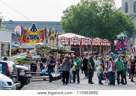 Large Fair In Essen Werden