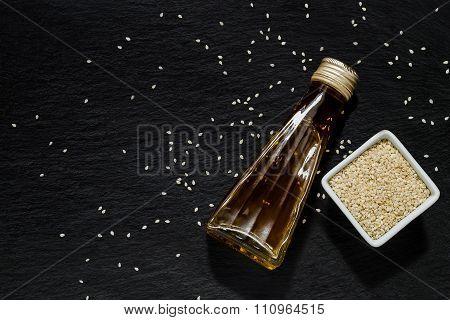 Sesame Oil And Sesame Seeds