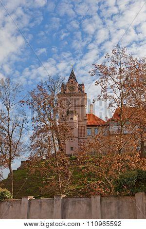 Donjon Of Brandys Nad Labem Castle, Czech Republic