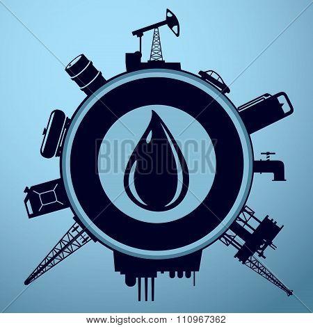 Petroleum industrysign