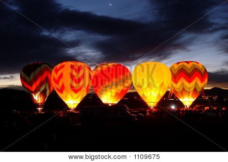 Hot Air Baloons