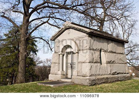 Stone Mausoleum
