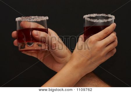 Toast With Cherry Brandy
