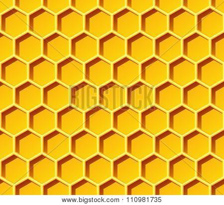 Honeycomb Seamless Vector Pattern