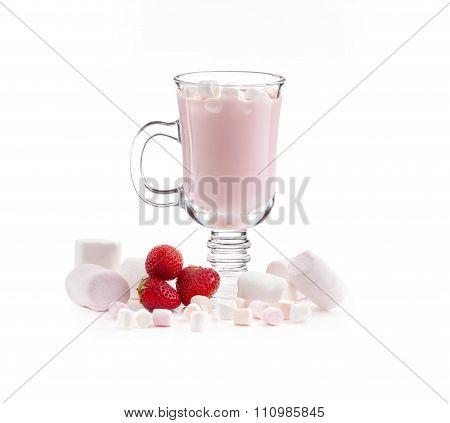 delicious creamy drink