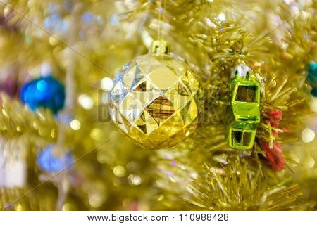 Abstract chrismas luxury background with chrismas balls
