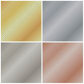 vector background with a metallic gold platinum silver and bronze strips poster