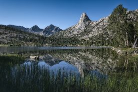 Fin Dome In The Sierra Nevada Mountains