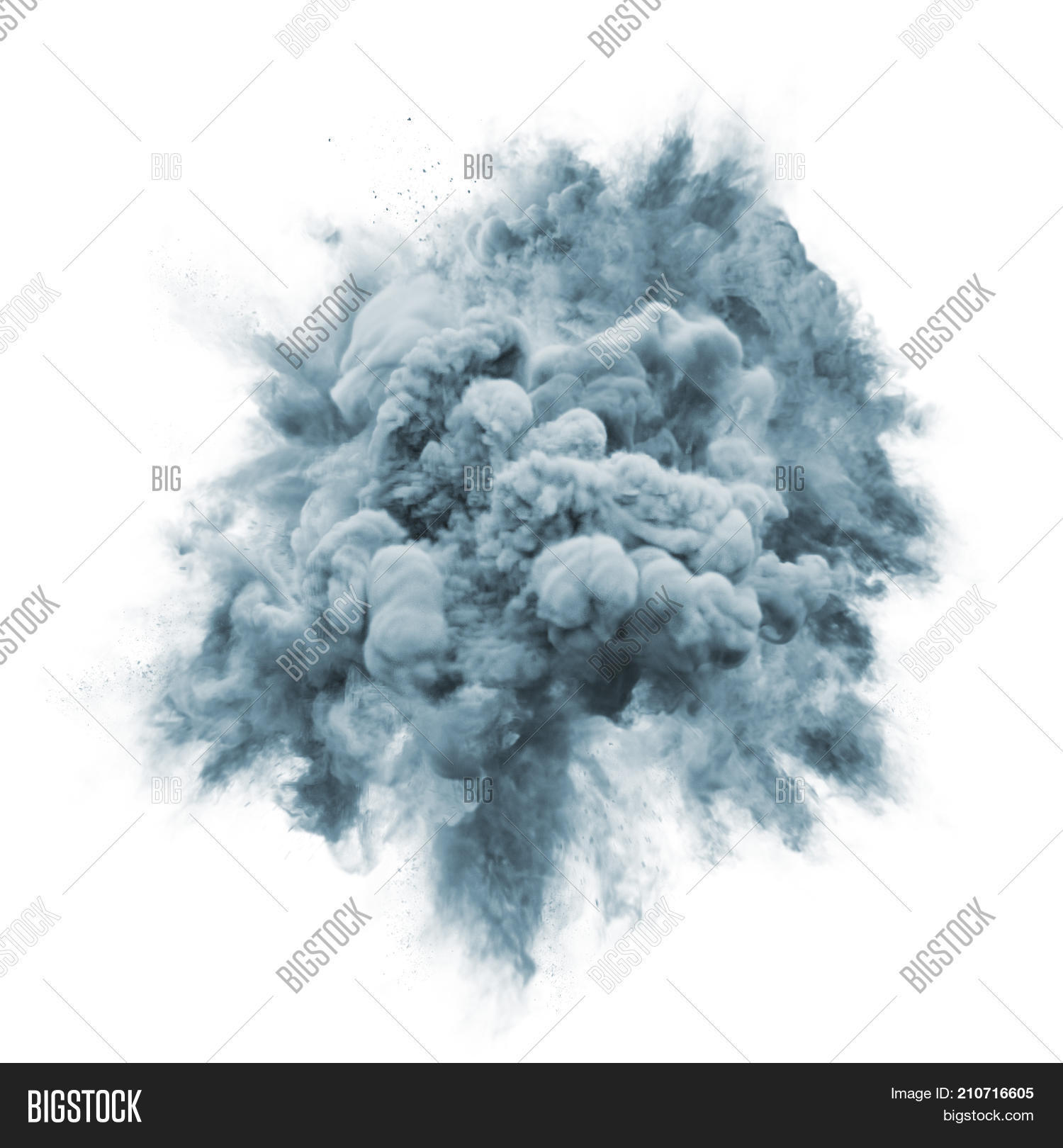 Paint Powder Explosion Image & Photo (Free Trial) | Bigstock