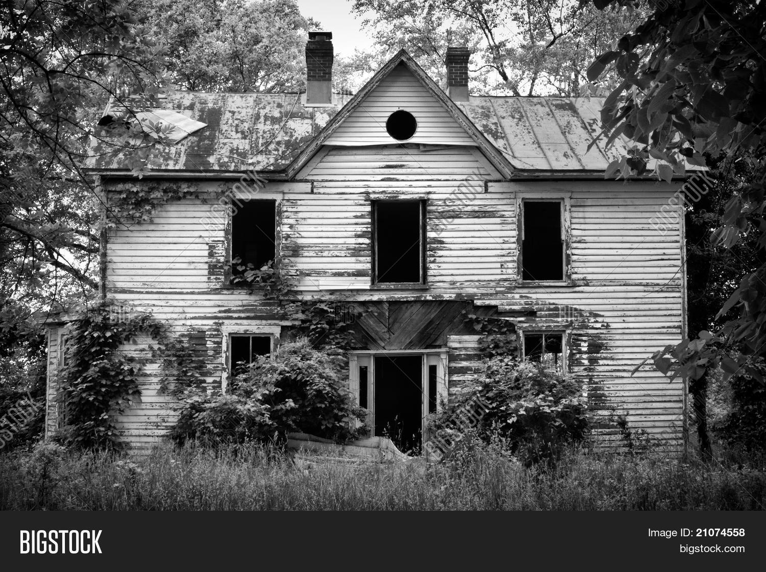 Spooky Old House Image Photo Free Trial