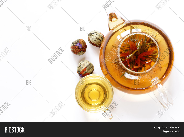 Green Tea Flower Image Photo Free Trial Bigstock