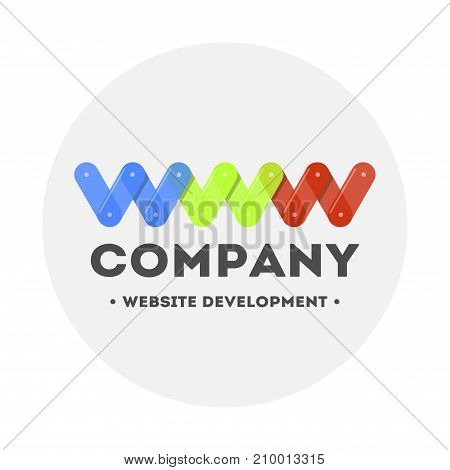 Logo web design and website development. Bright and modern. Computer Repair.
